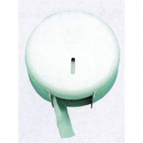 Porta rollos higiénico metalico blanco
