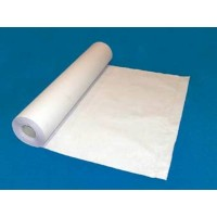 Rollo papel camilla 1 hoja ancho 60 cm x 110 m.