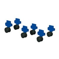 Conjunto 6 ruedas para torres