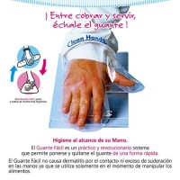 MANOPLA CLEAN HANDS KIT