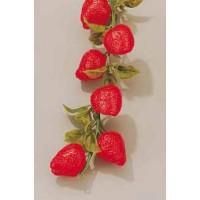 Guirnalda de fresas para decoracion 200 cm