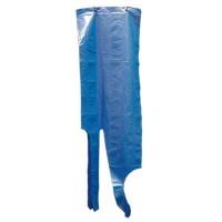DELANTAL AZUL COLGAR PE 1250x800x0,04 mm. 100 UDS.