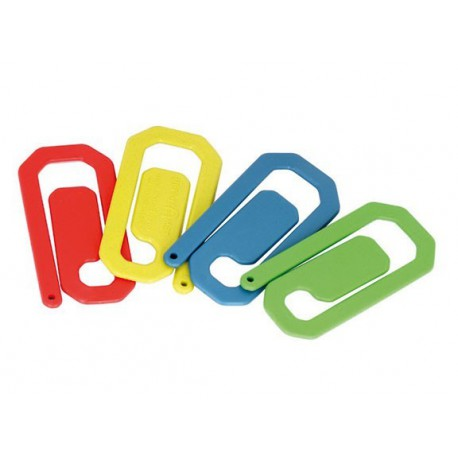 PACK 10 CLIPS DETECTABLES 8x4 cm C/