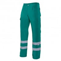 PANTALON REFLECTANTE VERDE