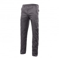 PANTALON STRETCH 240 gr. GRIS
