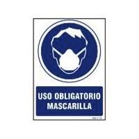 SEÑAL MASCARILLA POLIESTER...