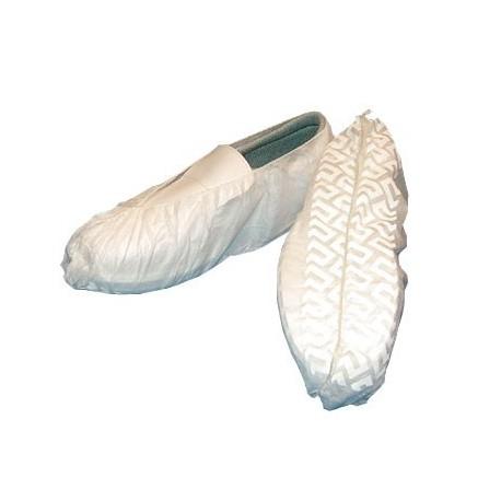 Calzas antideslizantes blancas pp 100 uds.