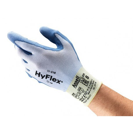 GUANTES HYFLEX TRICOT. 11-518  T/