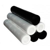 Rollos de film negro sin tubo 162x0,5 m. 6 uds.