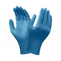 GUANTES NITRILO AZUL OSCURO ANSELL 92-465 100 UDS.