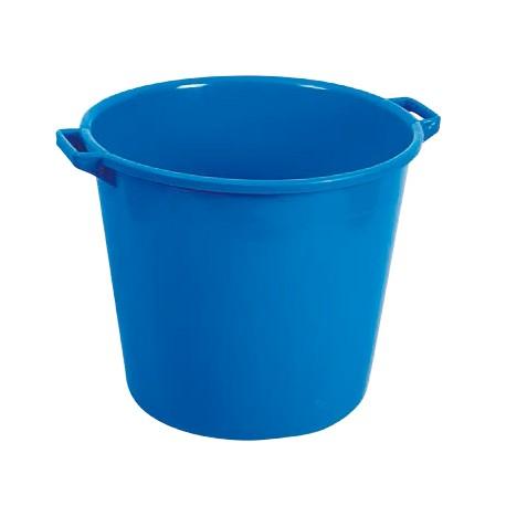 Barreño plastico azul 40 l. 48x33