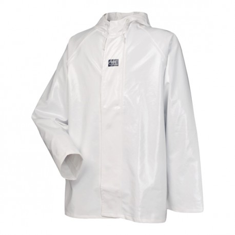 CHAQUETA PVC BLANCA IMPERMEABLE HELLY...