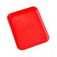 Bandeja roja abs 600x400x25 mm 160