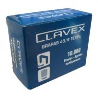 GRAPAS CLAVEX 43/6 10 MIL
