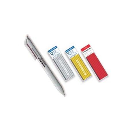 Minas 3 mm. rojas caja 12