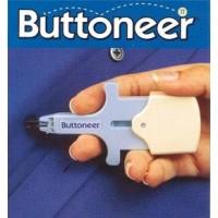 Maquina colocar botones clip plastico