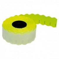 Etiquetas amarillo fluor 26x12 1000 uds.