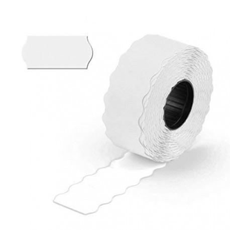 Etiquetas blancas intemperie 26x16 adh.8 36 m 1000 uds.