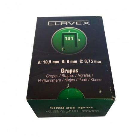 CAJA GRAPAS CLAVEX 131/8  5 MIL