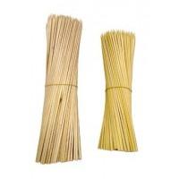 Palillos de madera para brochetas 130x3 mm. 1000 uds.