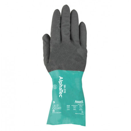 GUANTES NITRILO ALPHATEC 58-270 ANSELL