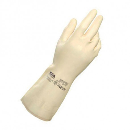 GUANTES LATEX SUPERFOOD BLANCO 175 MAPA