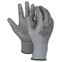 GUANTES MATRIX P GRIP GREY POLYCO