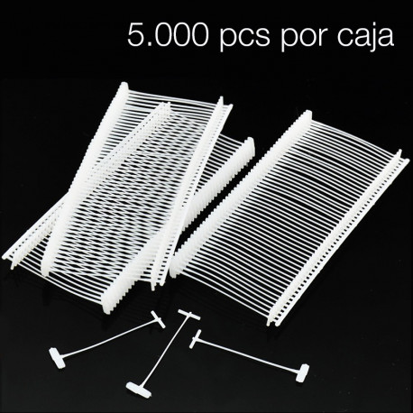 NAVETES PLASTICO FINOS 25 mm 1000 UDS.