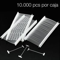 NAVETES MICRO PIN NEGR 4,4 mm 1000 UDS.