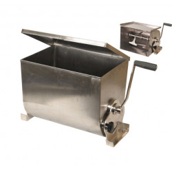 MEZCLADORA MANUAL INOX. 32 L.