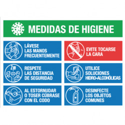 CARTEL PVC MEDIDAS DE...