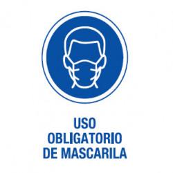 CARTEL PVC USO MASCARILLA...