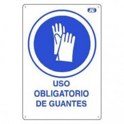 CARTEL PVC USO OBLIGATORIO...