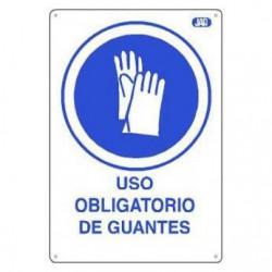 CARTEL PVC USO OBLIGATORIO...