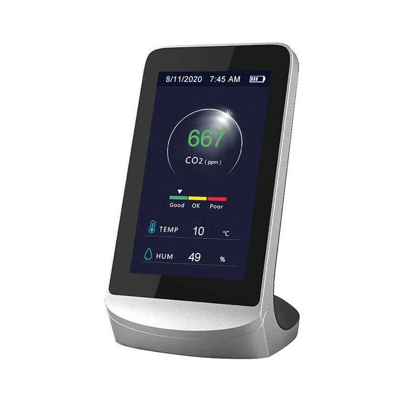 MEDIDOR DE CO2 PORTATIL EFITEST LCD