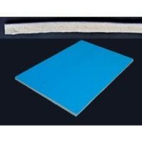 LATEX GRIS NYLON 10 mm 135 cm. 1 METRO