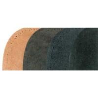 Parche cuero negro 11x18,5 2 uds.