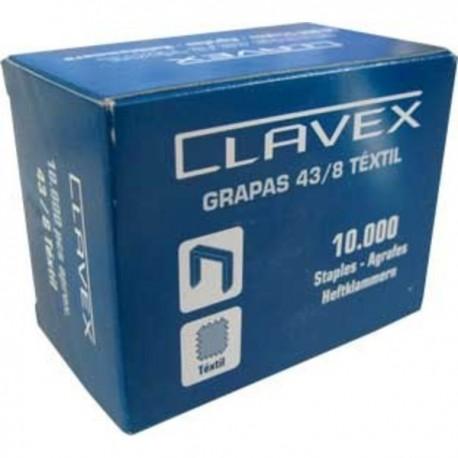 GRAPAS CLAVEX 43/8  10 MIL