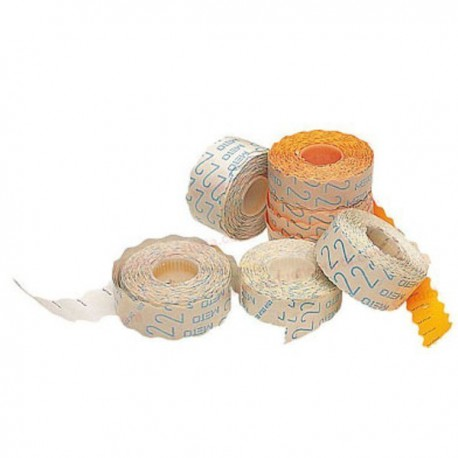 Etiquetas blancas 26x16 mm. adhesivo 2 1000 uds.