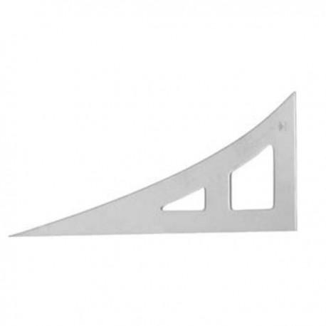 Cartabon 50x25 1/2 cm hipotenusa curva