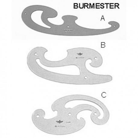 PLANTILLA BURMESTER C 13,5 cm  2