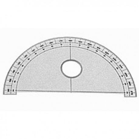 SEMICIRCULO 10 cm 180 126230