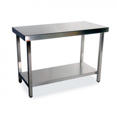 Mesa central con estante 800x600x900 mm