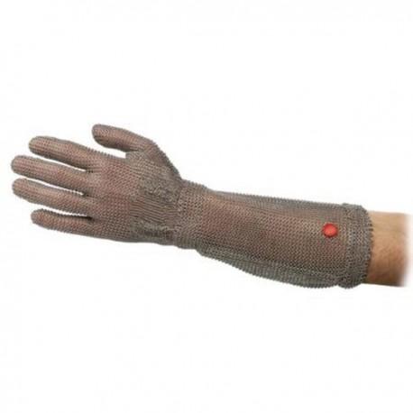Guante malla wilcoflex con manguito 15 cm. mano izquierda t/4