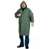 IMPERMEABLE LARGO VERDE  T/