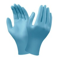 GUANTES NITRILO AZUL 48-651 ANSELL 200 UDS.