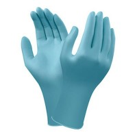 GUANTES NITRILO AZUL CLARO ANSELL 92-471 100 UDS.
