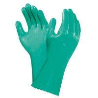 GUANTES NITRILO VERDE 39-360 ANSELL