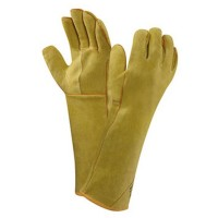 GUANTES CUERO WORKGUARD 43-216  T/10 ANSELL