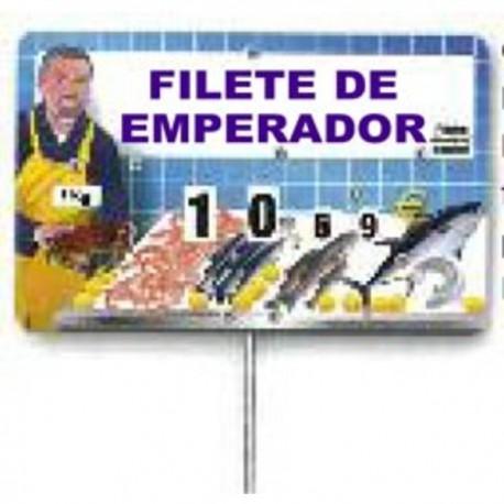 CARTEL PRECIOS PESC. C/TEXTO 801